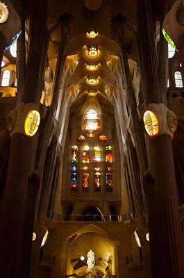 Photograph - Barcelona - Sagrada Familia 2  by Andrea Mazzocchetti