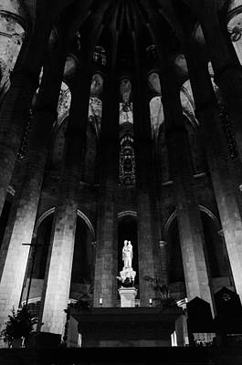 Photograph - Barcelona - Santa Maria Del Mar by Andrea Mazzocchetti