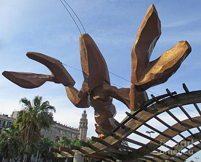 Photograph - Barcelona Sculpture 6 by Randall Weidner