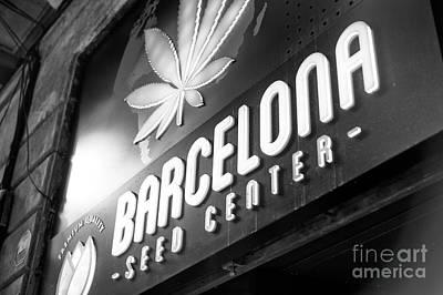 Photograph - Barcelona Seed Center by John Rizzuto