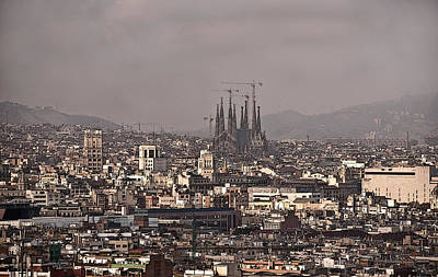 Photograph - Barcelona by Steven Sparks