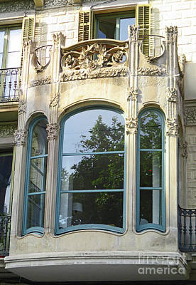 Photograph - Barcelona Windows 5 by Randall Weidner
