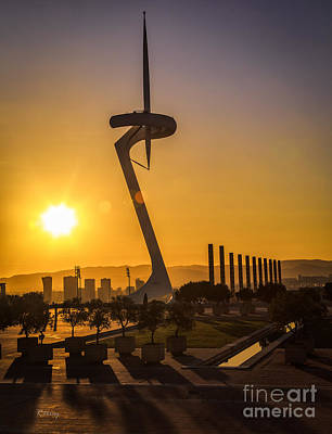 Photograph - Barcelona's Olympic Stadium by Rene Triay Photography