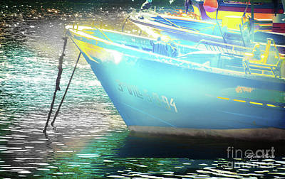 Photograph - Barcos by Alfonso Garcia