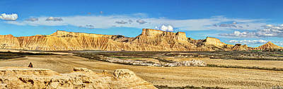 Photograph - Bardenas Desert Panorama 3 by Weston Westmoreland