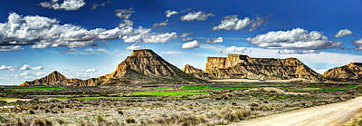 Photograph - Bardenas Desert Panorama 4 by Weston Westmoreland