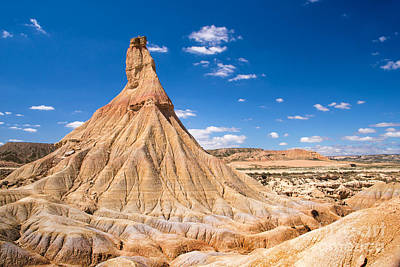 Navarre Photograph - Bardenas Reales by Delphimages Photo Creations
