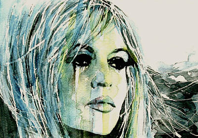 Sixties Painting - Bardot by Paul Lovering