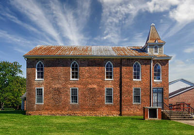 Photograph - Bardstown First Church - 1812 - 1 by Frank J Benz
