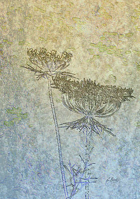 Weed Digital Art - Bare Bones by Gordon Beck