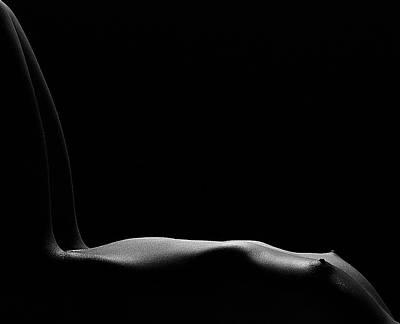 Nude Photograph - Bare Chair by Fulvio Pellegrini