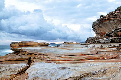 Photograph - Bare Island Rock Platforms 2 by Nicholas Blackwell