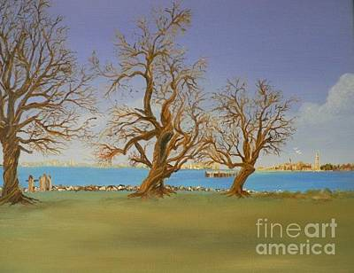 Painting - Bare Splender by Cheryl Damschen