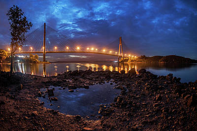 Photograph - Barelang Bridge, Batam by Pradeep Raja Prints