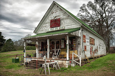 Barfield General Store Art Print