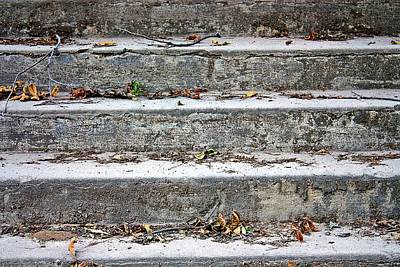 Photograph - Barge Town Grocery Steps by KayeCee Spain