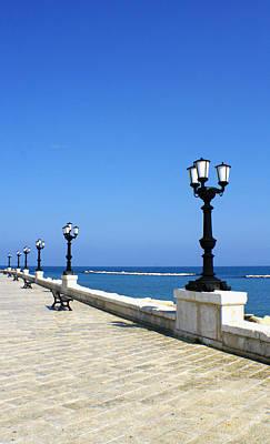 Bari Waterfront Art Print