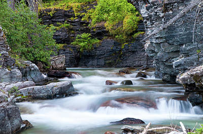 Photograph - Baring Creek by Steve Stuller