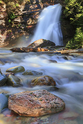 Photograph - Baring Falls Beauty by Jack Bell