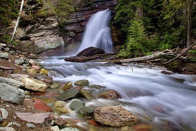 Photograph - Baring Falls Horizontal by Jack Bell