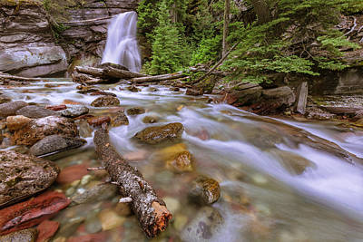 Photograph - Baring Falls  by Jack Bell