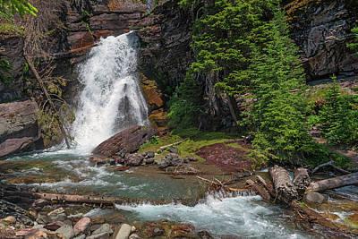 Waterfalls Photograph - Baring Falls by Loree Johnson