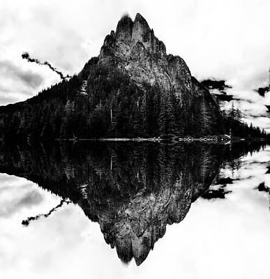 Baring Mountain Reflection Art Print