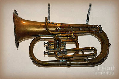Photograph - Baritone Horn 1910 By Kaye Menner by Kaye Menner