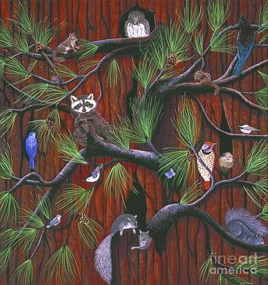 Painting - Bark by Jennifer Lake