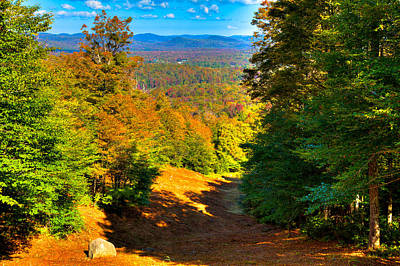 Photograph - Barkeater Trail On Mc Cauley Mountain by David Patterson