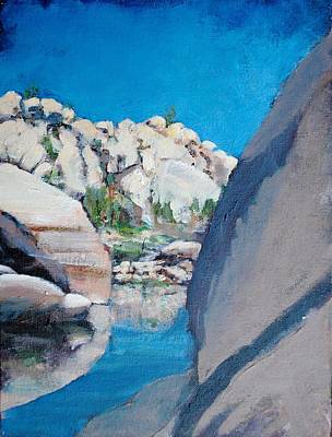 Painting - Barker Dam by Richard Willson
