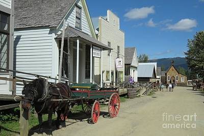 Photograph - Barkerville by Frank Townsley