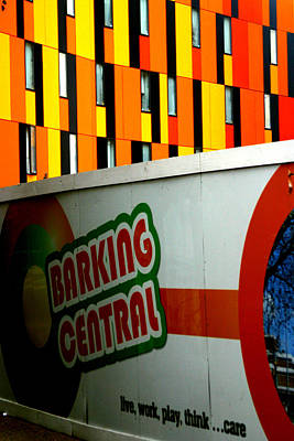 Barking Central Art Print by Jez C Self