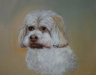 Painting - Barkley by Nancy Lauby