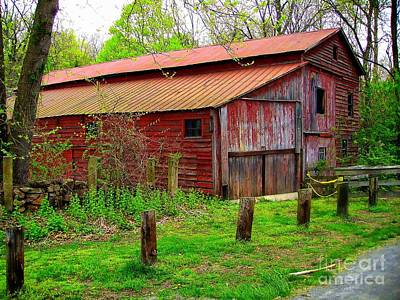 Photograph - Barn # 9 by Marcia Lee Jones