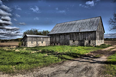 Photograph - Barn 10 by CA  Johnson