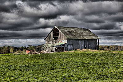 Photograph - Barn 11 by CA  Johnson