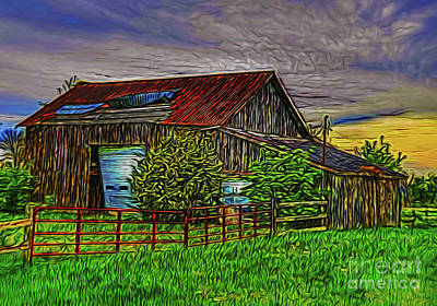 Photograph - Barn 14318 by Ray Shrewsberry