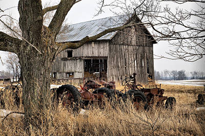 Photograph - Barn 16 by CA  Johnson