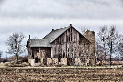 Photograph - Barn 17 by CA  Johnson