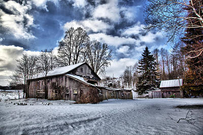 Photograph - Barn 18 by CA  Johnson