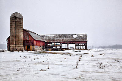 Photograph - Barn 19 by CA  Johnson