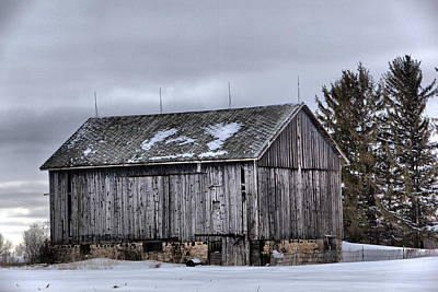 Photograph - Barn 2 by CA  Johnson