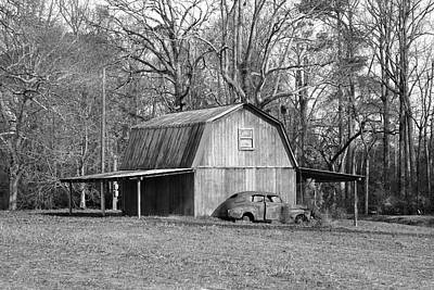 Farm Scenes Photograph - Barn 2 by Mike McGlothlen