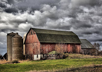 Photograph - Barn 20 by CA  Johnson