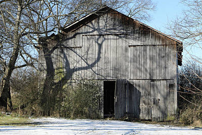 Photograph - Barn 2018-01-19_898 by Ericamaxine Price