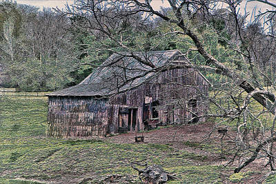 Photograph - Barn 205-4-2015 by Ericamaxine Price