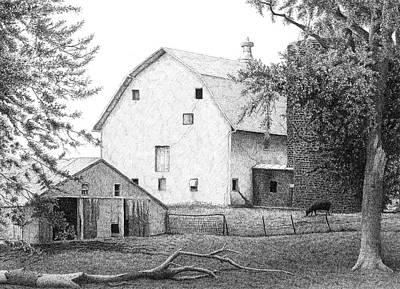 Barn 23 Art Print by Joel Lueck