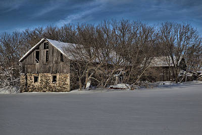 Photograph - Barn 3 by CA  Johnson