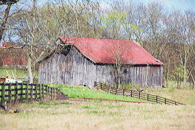 Photograph - Barn 3183 by Ericamaxine Price
